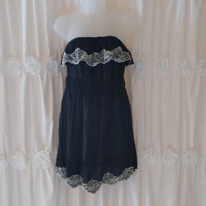 Wet Seal Strapless Dress /Cover up